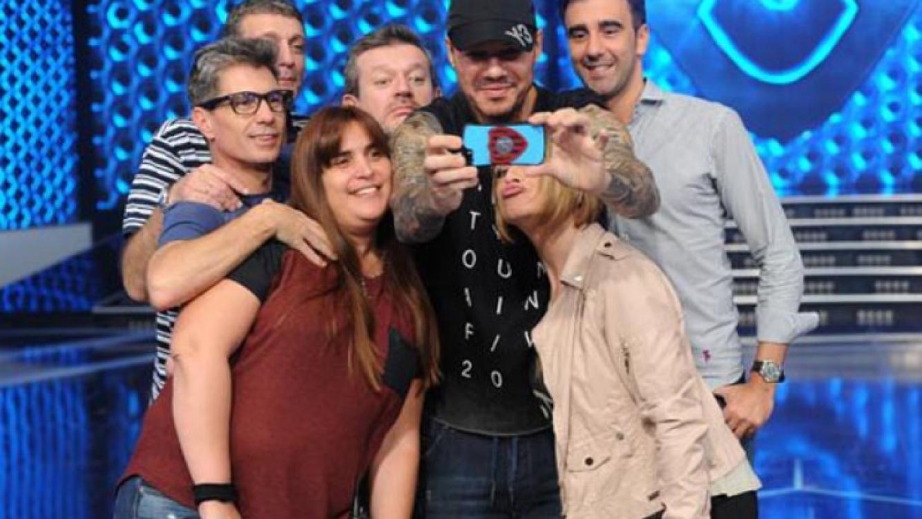 Marcelo Tinelli y una selfie en Twitter.