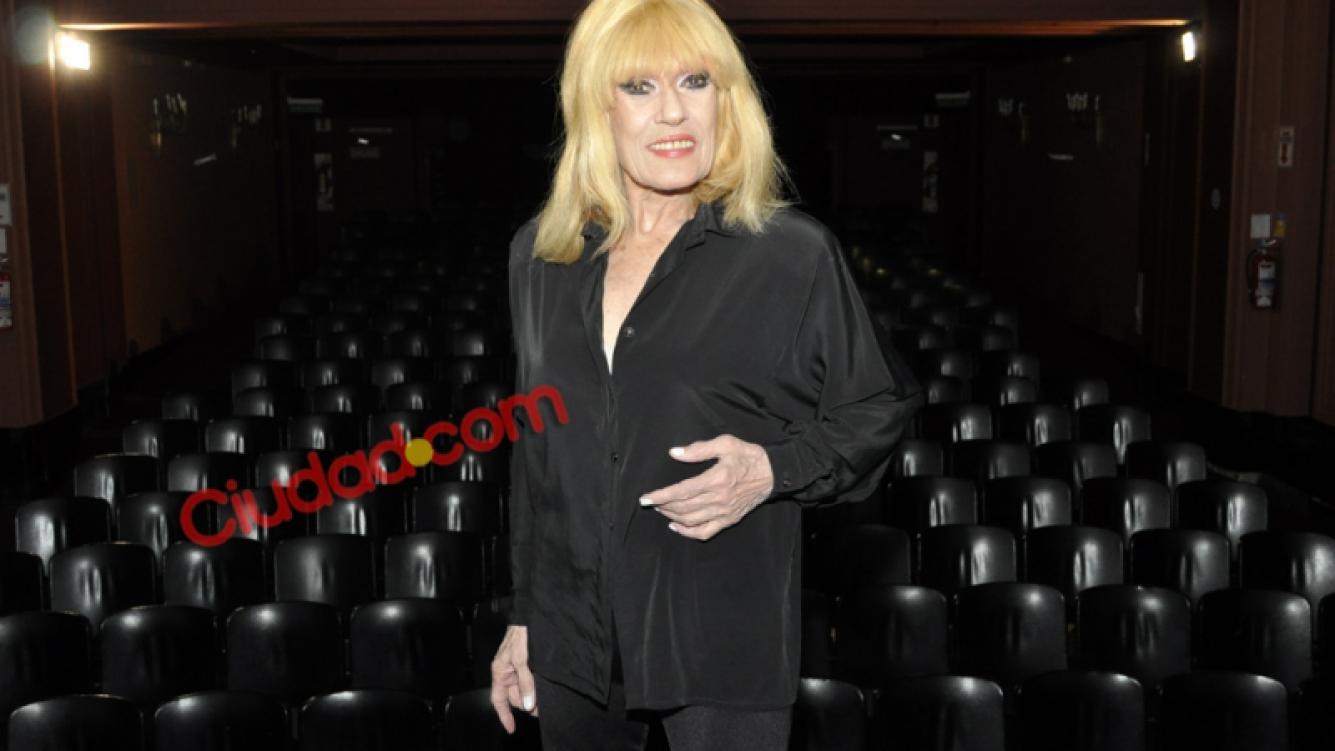 Norma Pons, en su única entrevista a Ciudad.com. (Foto: Jennifer Rubio)