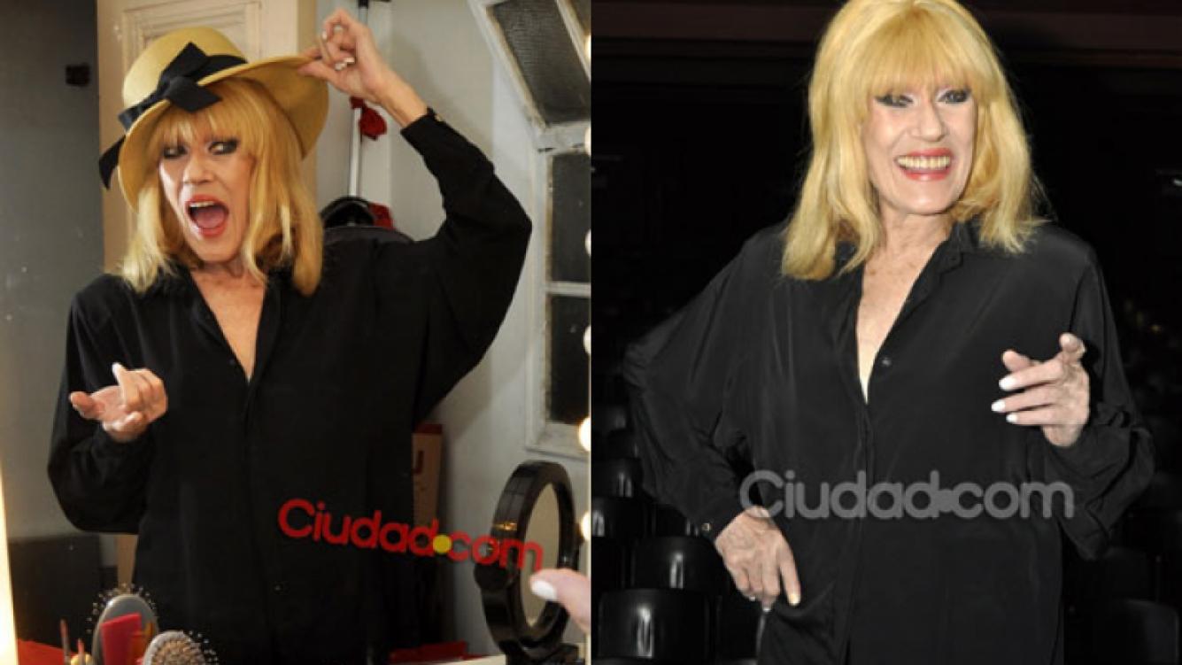 Pons se había entregada a una charla íntima con Ciudad.com (Fotos: Jennifer Rubio).