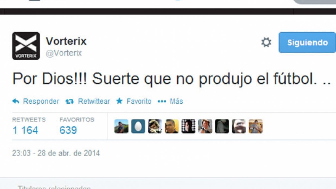 El tweet de Pergolini dedicado a Marcelo Tinelli (Foto: Captura).