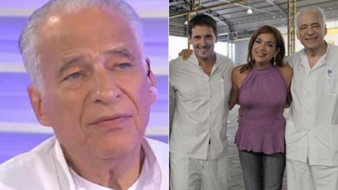 Alberto Cormillot y el final de Cuestión de peso. (Foto: archivo Web)