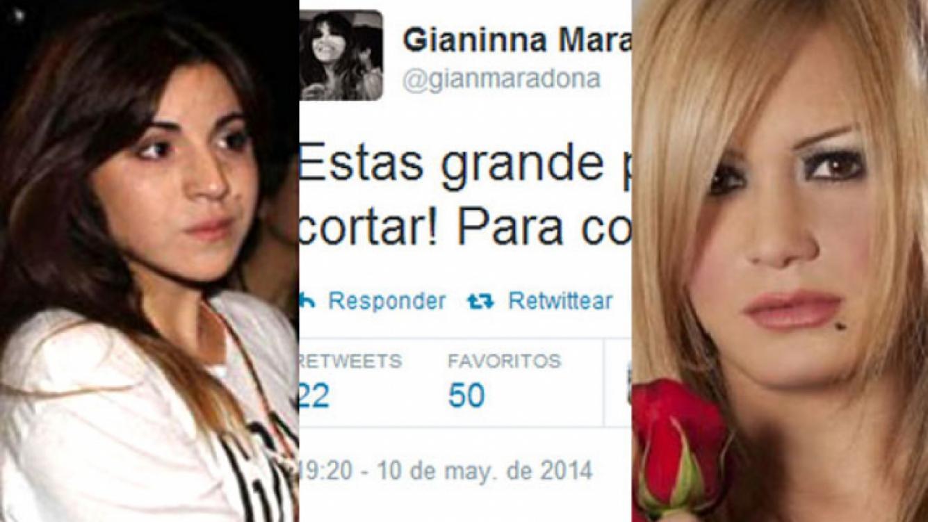 Gianinna y un misterioso llamado desde Inglaterra de ¿La Princesita?. (Foto: Web)