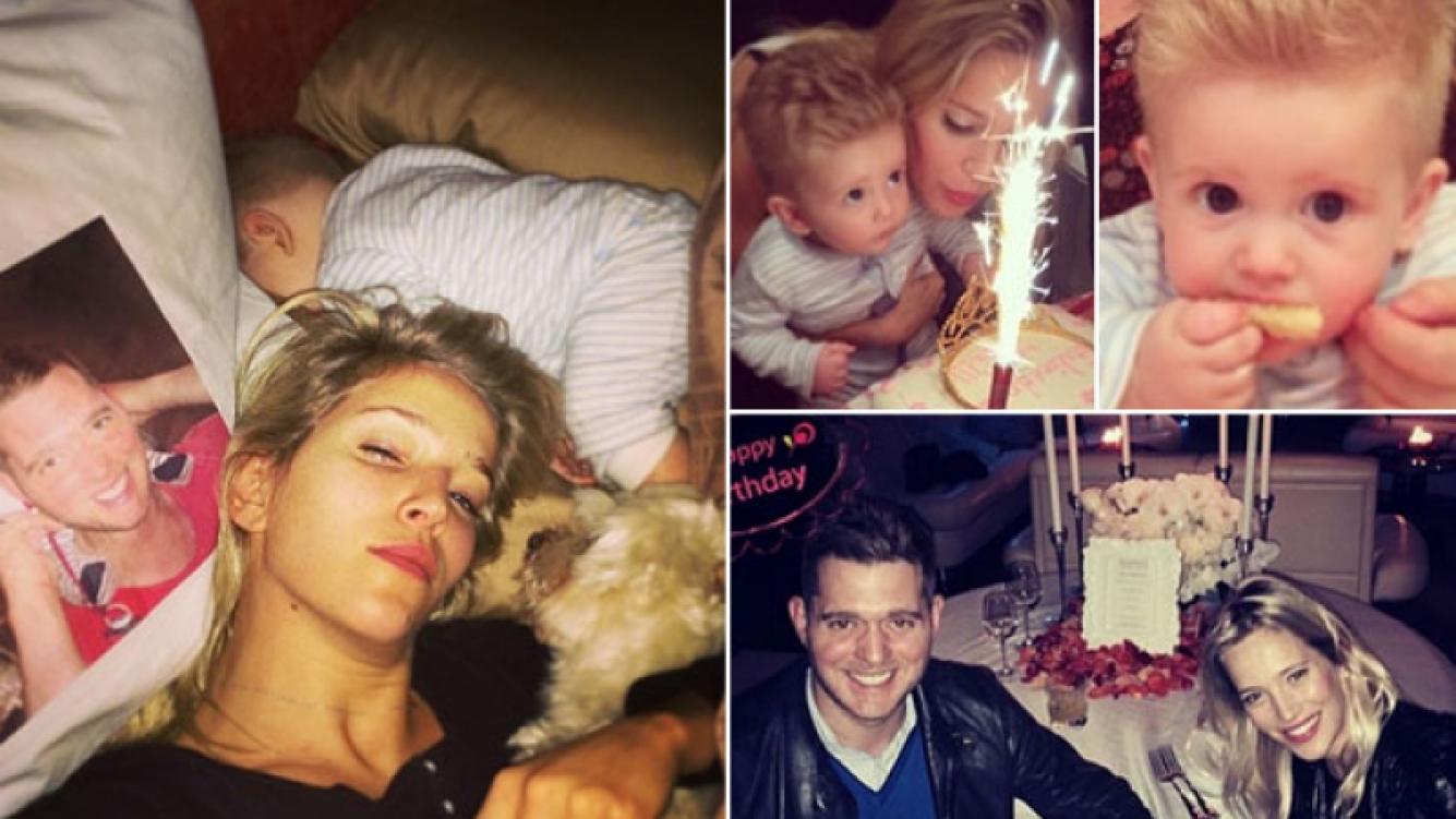 Luisana Lopilato y su múltiple festejo de cumpleaños. (Foto: Instagram)