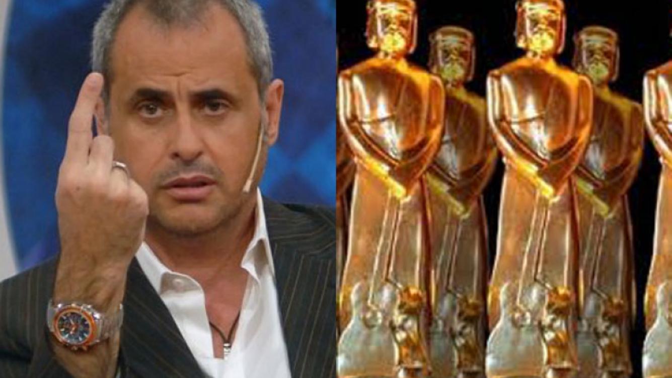 Jorge Rial, muy crítico e irónico con los premios (Fotos: Web).