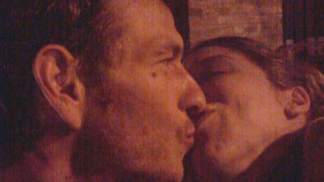 Florencia Bertotti y Federico Amador, súper enamorados (Foto: Twitter).
