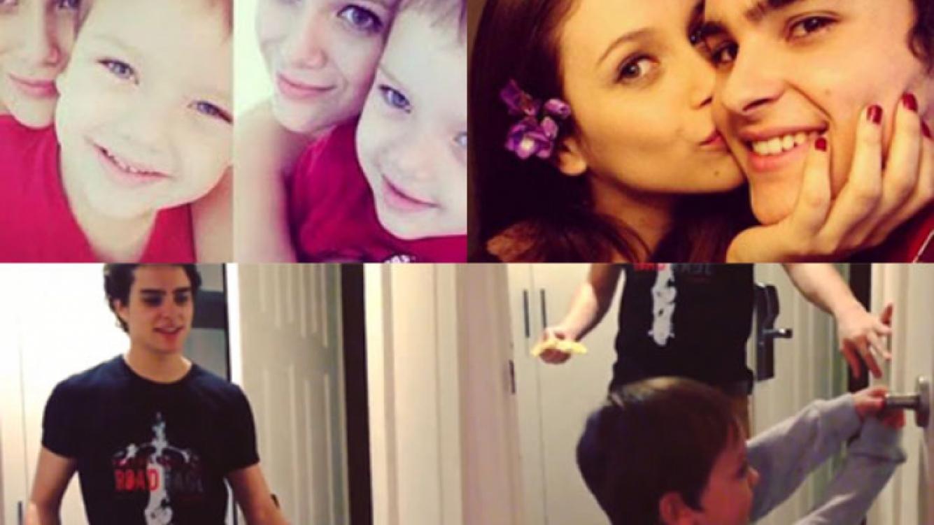Los celos de Thiago por el romance de su hermana Barbie Vélez con Augusto Schuster. (Fotos: Instagram, Twitter y Web)