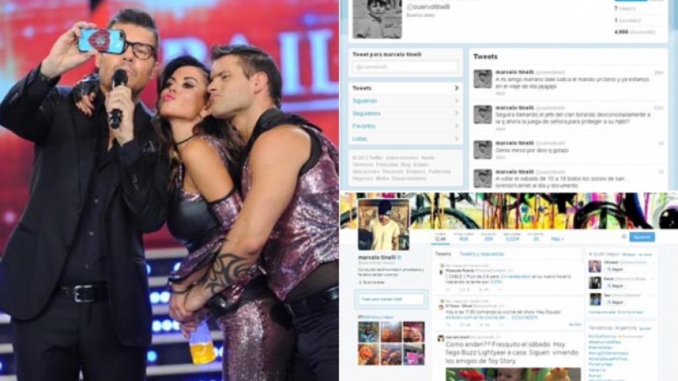 Marcelo Tinelli sumó 3 millones de seguidores en un año y nueve meses. (Fotos: Ideas del Sur y Twitter)