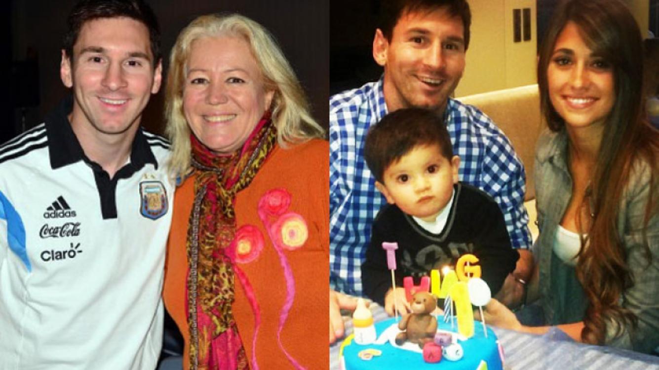 Lionel Messi le brindó una entrevista a Estelita Ventura (Foto: YoEstelita.com y Web).