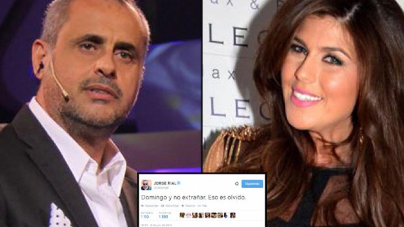 Jorge Rial y un punto ¿final? a su amor con Loly Antoniale. (Foto: Web)