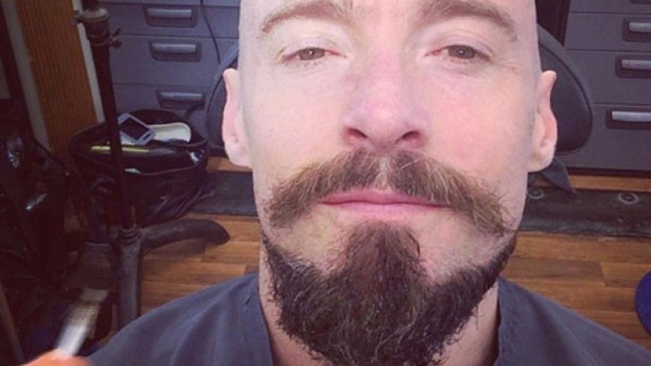 El drástico cambio de look de Hugh Jackman. (Foto: Web/ Instagram)