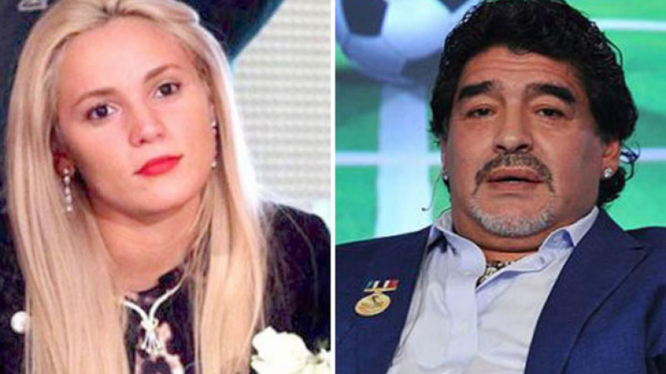 Rocío Oliva y una fuerte denuncia contra Diego Maradona. (Foto: Web)