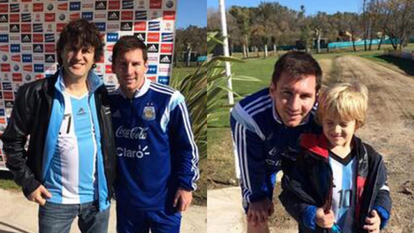 Ciro Martínez y una divertida anécdota de su hijo con Lionel Messi (Fotos: @ciroylospersas).