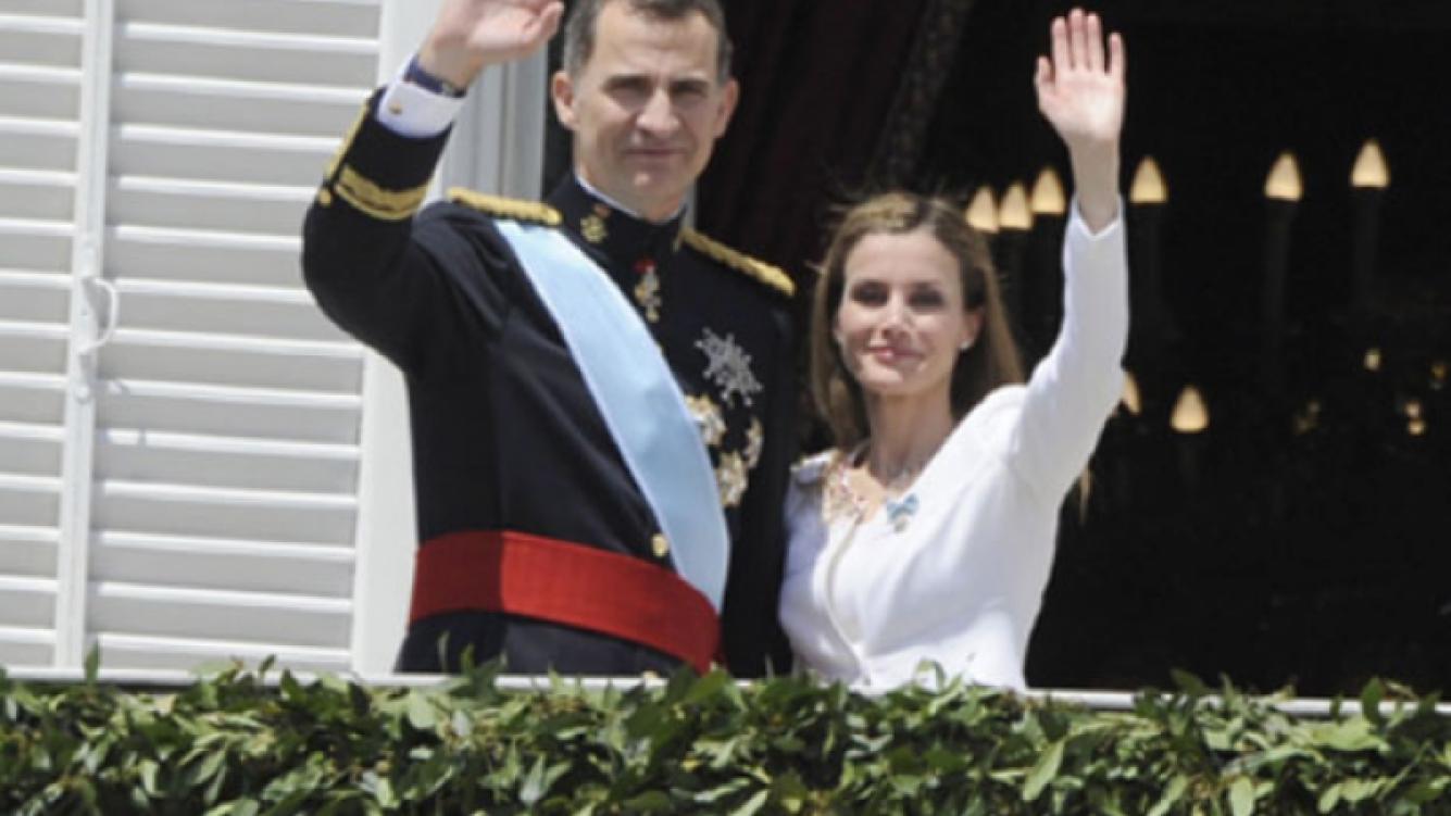 Felipe VI fue coronado como el nuevo rey de España en Madrid. (Foto: Web)