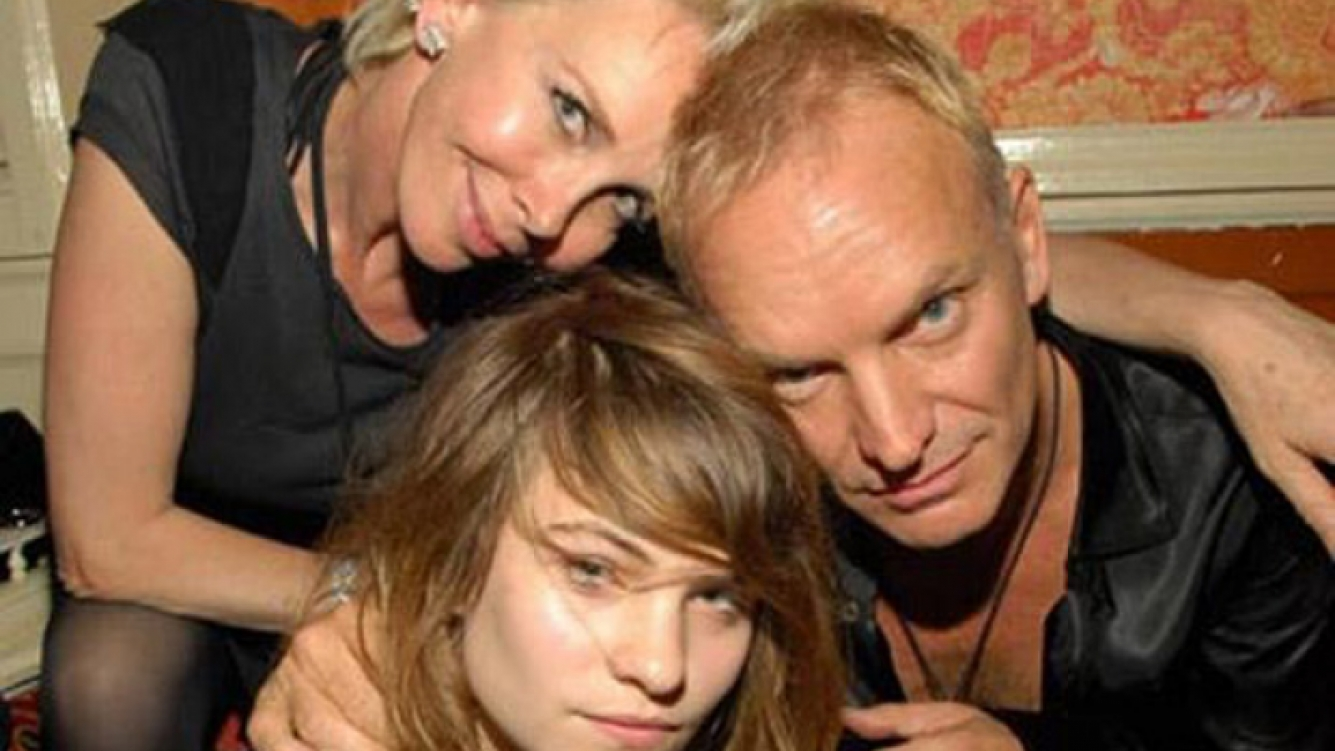 Sting y su hija. (Foto: Twitter)