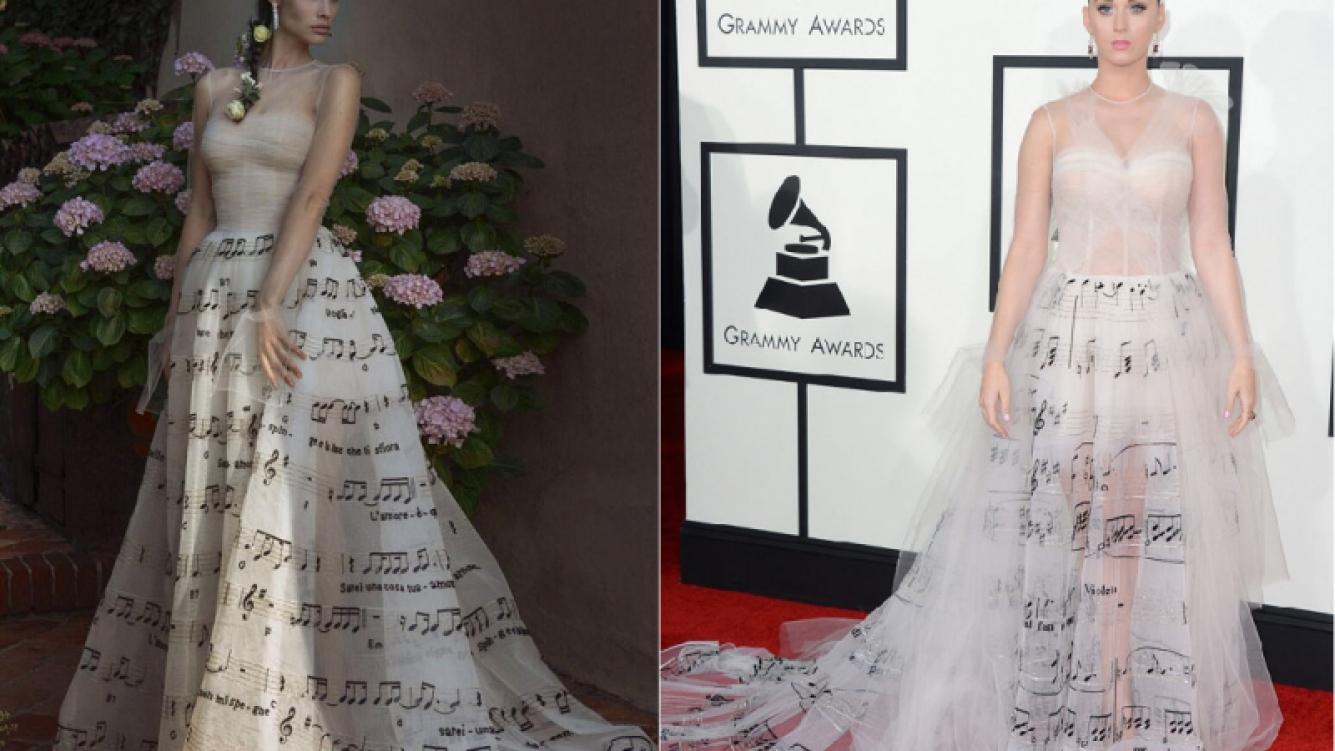 La mujer de Eros Ramazzotti le copió el vestido a Katy Perry para casarse con un famosísimo cantante. (Foto: Facebook E. Ramazzotti/Web)