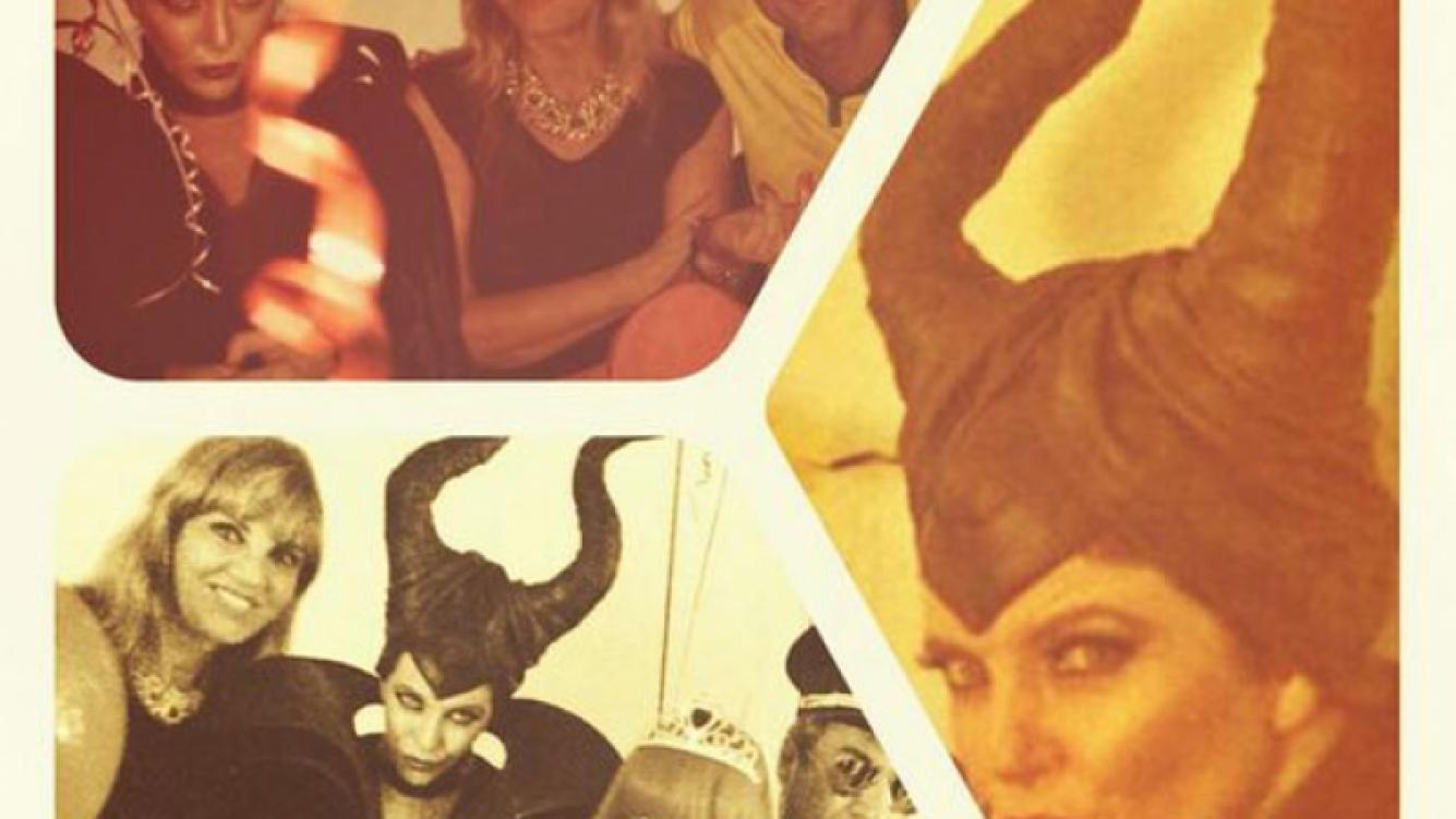 El divertido festejo de cumpleaños de Mónica Ayos: ¡fiesta de disfraces villanos! (Foto: Twitter)