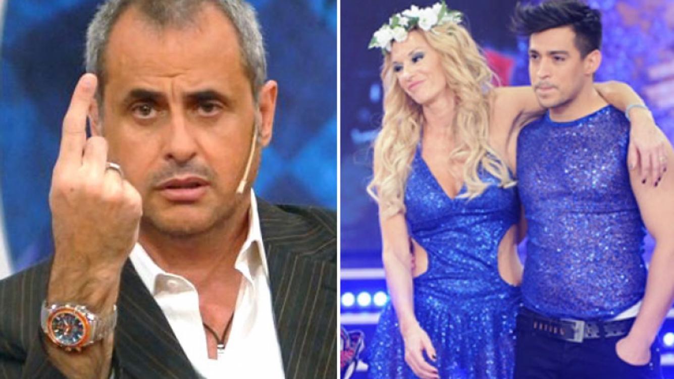 Jorge Rial, picante con Yanina Latorre. (Foto: Web e Ideas del Sur)