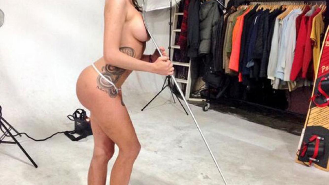 Las fotos de Annalisa Santi al desnudo ¡y sin Photoshop! (Foto: Twitter)