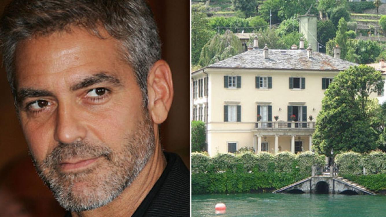 George Clooney: si te acercás a menos de 100 metros de su mansión deberás pagar… ¡500 euros! (Foto: Web)