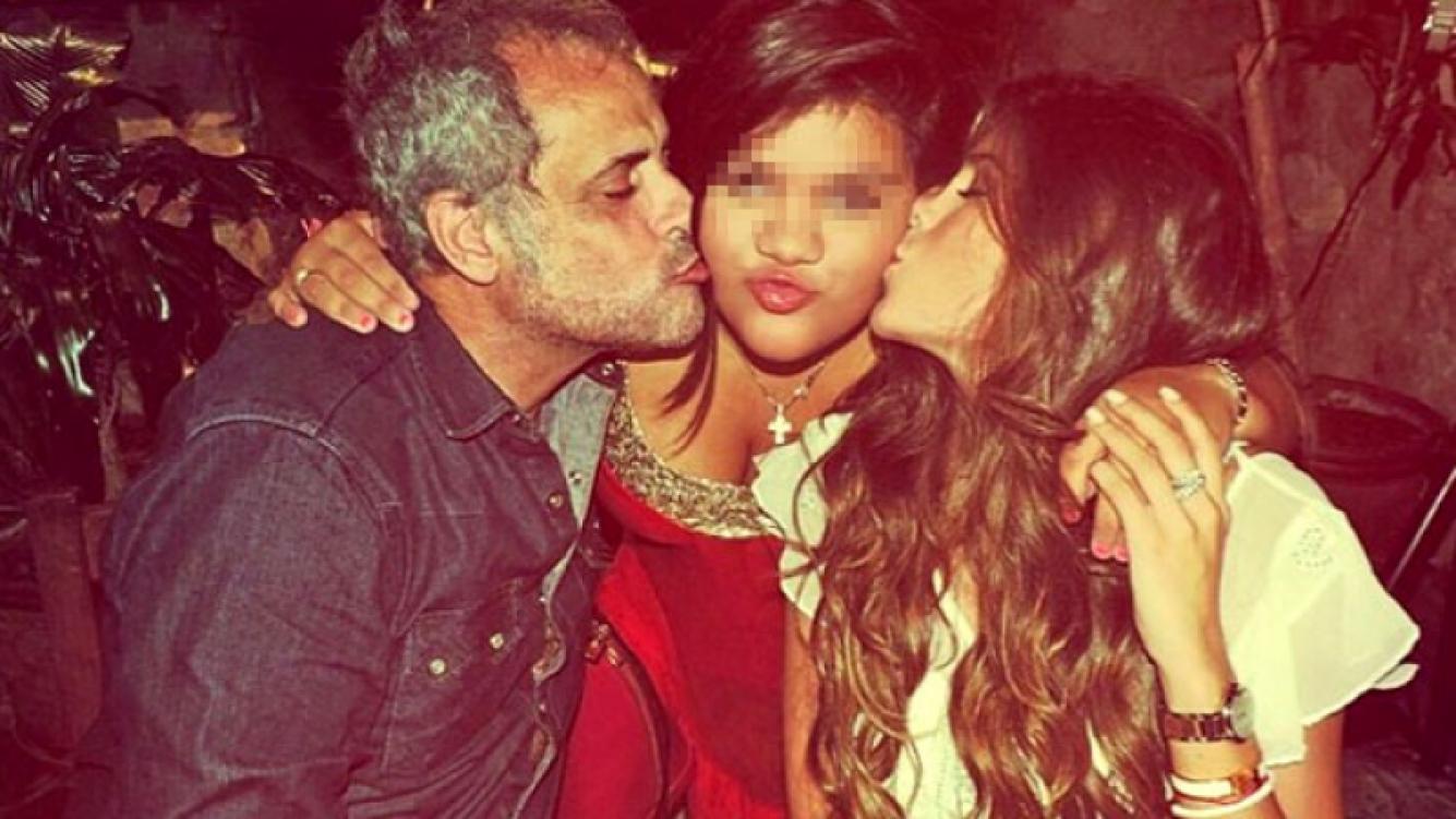 Jorge Rial y la primera foto de la reconciliación con Loly Antoniale. (Foto: Instagram)