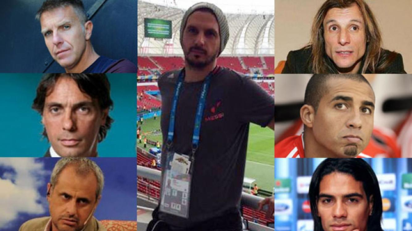 """Los colegas de Jorge """"Topo"""" López y el mundo deportivo expresó su dolor (Fotos: Twitter y Web)."""