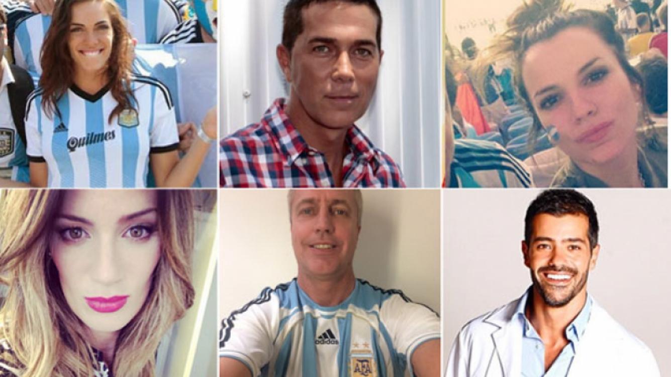 Famosos: promesas y cábalas para que Argentina sea campeón Mundial (Fotos: Twitter)