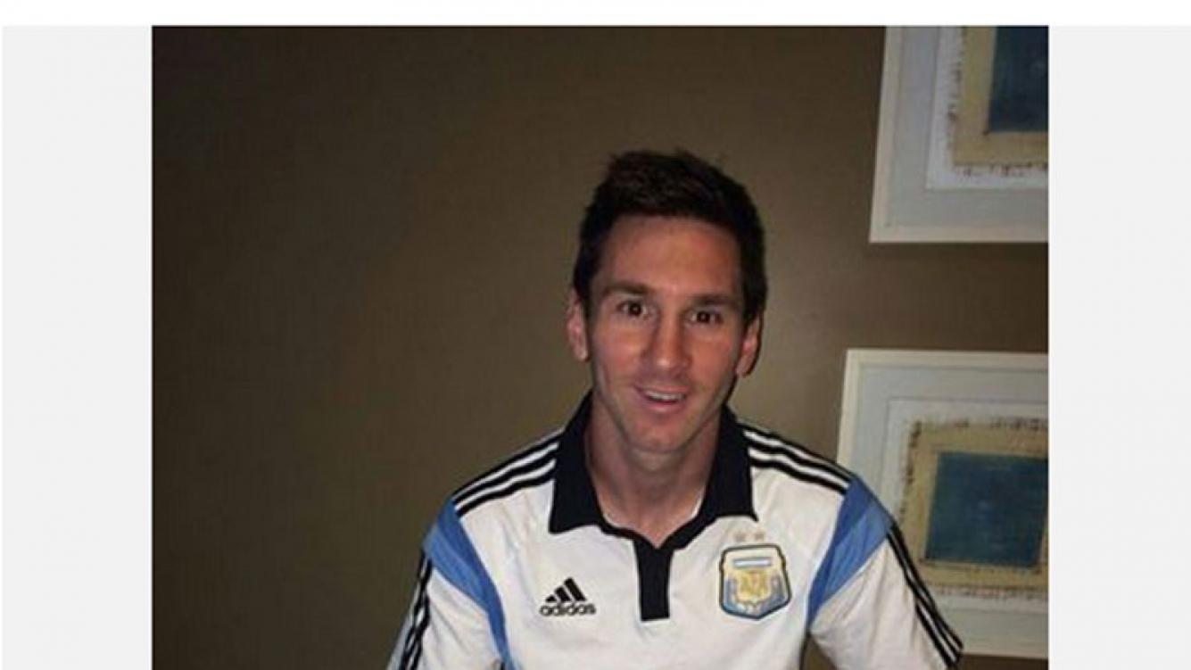 El mensaje de Lionel Messi ante el último partido del Mundial (Foto: Facebook)