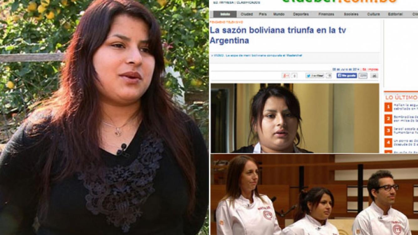 Elba, finalista de MasterChef, es furor en Bolivia, tierra natal de sus padres (Foto: Web)