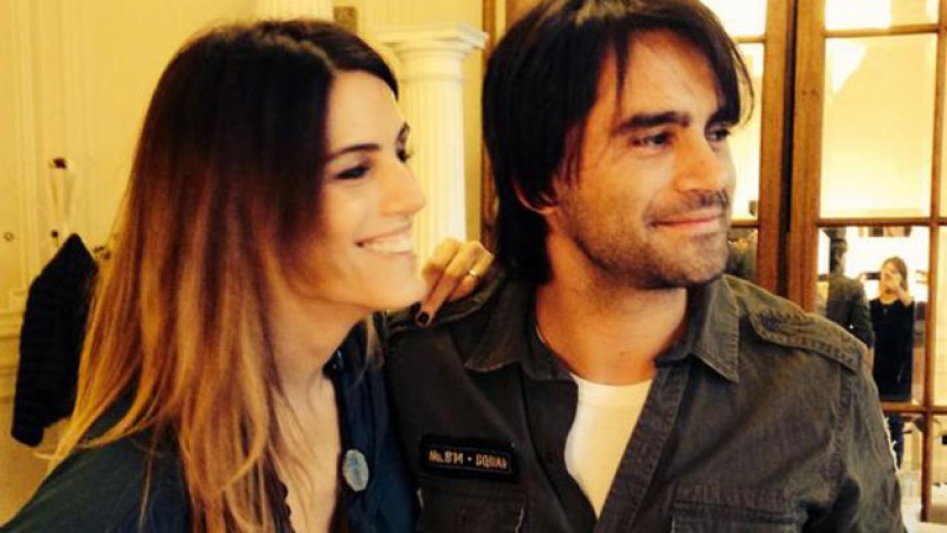 Gonzalo Heredia y la imagen de su nuevo look  (Fotos: Twitter).
