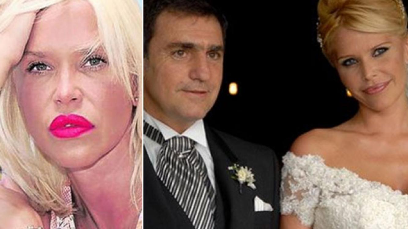 Dos años atrás, Nazarena Vélez se casaba con Fabián Rodríguez (Fotos: Web)