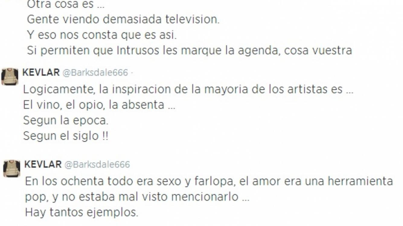 Calamaro apoyó a Fito Paéz en la canción contra Mengolini y disparó contra Intrusos (Foto: Twitter)