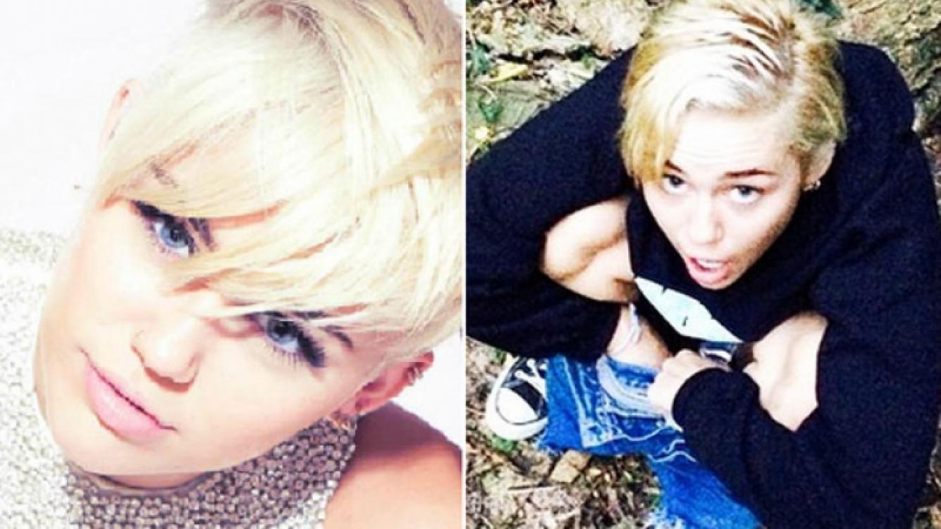 Miley Cyrus vuelve a provocar al subir a Instagram una foto… ¡haciendo pis! (Foto: Web/ Instagram)