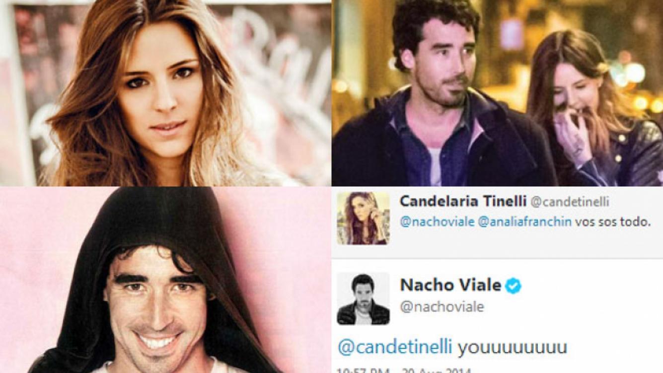 Candelaria Tinelli y Nacho Viale: declaraciones de amor 2.0 (Fotos: Web y ¡Hola! Argentina).