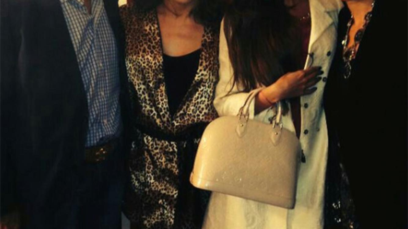 Jorge Rial y Mariana Antoniale fuero a ver a Lizy Tagliani al teatro (Foto: prensa Maxi Cardaci)