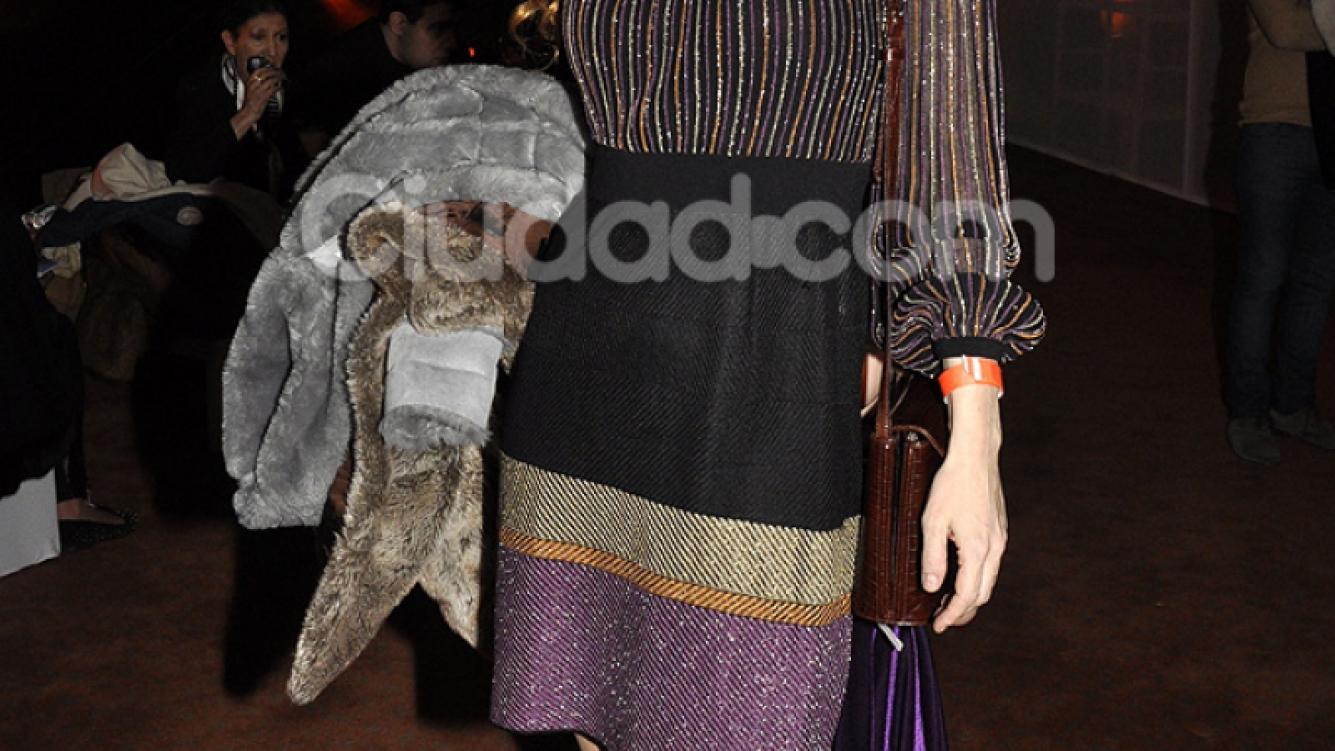 Karina El Azem en el BAAM. (Foto: Jennifer Rubio-Ciudad.com)