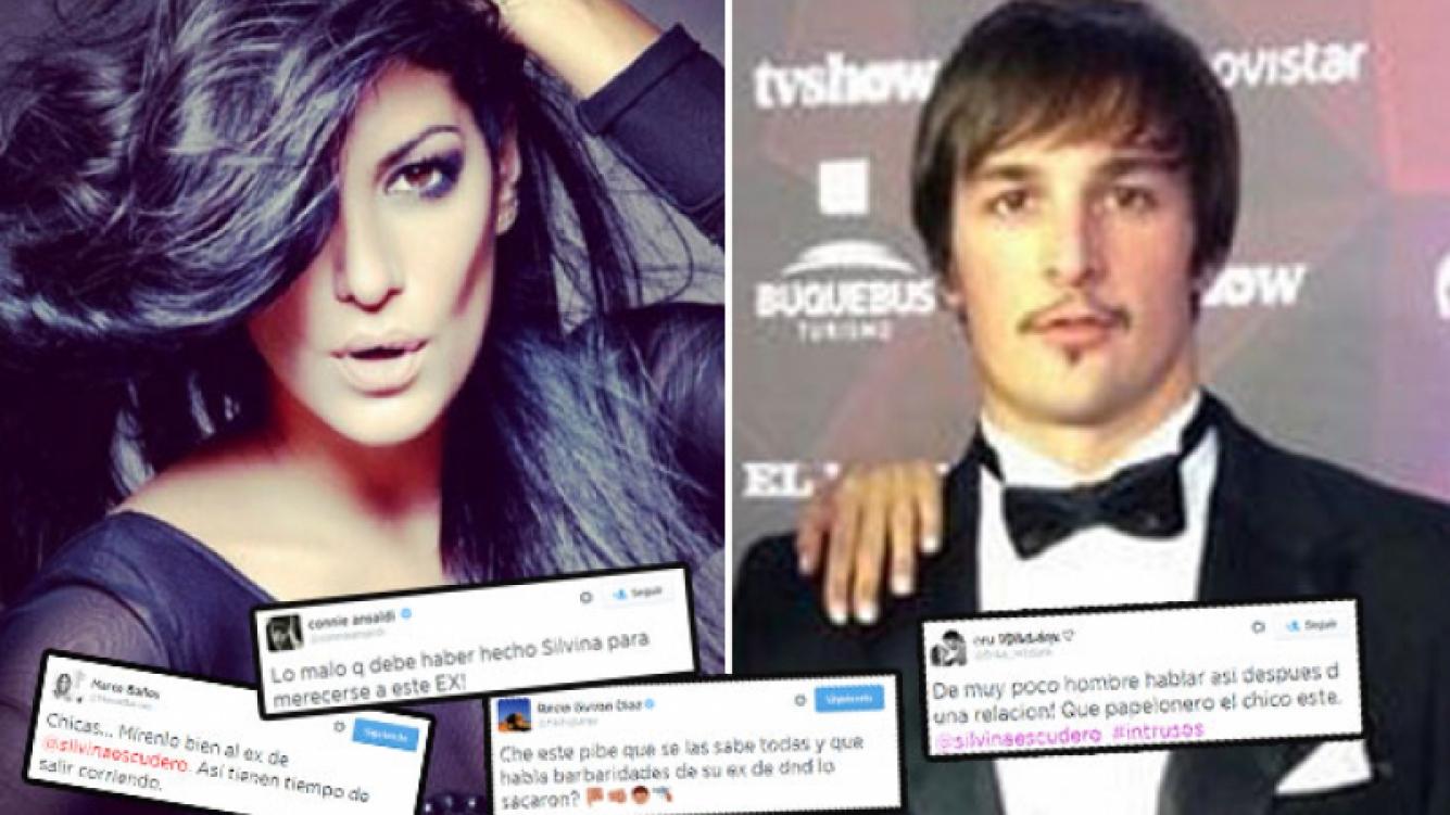 El apoyo tuitero a Silvina Escudero en la guerra con su ex. (Foto: Twitter)