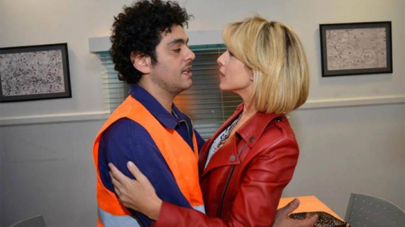 Mey García del Río (Carla Peterson) y Rubén D Onofrio (Alberto Ajaka).