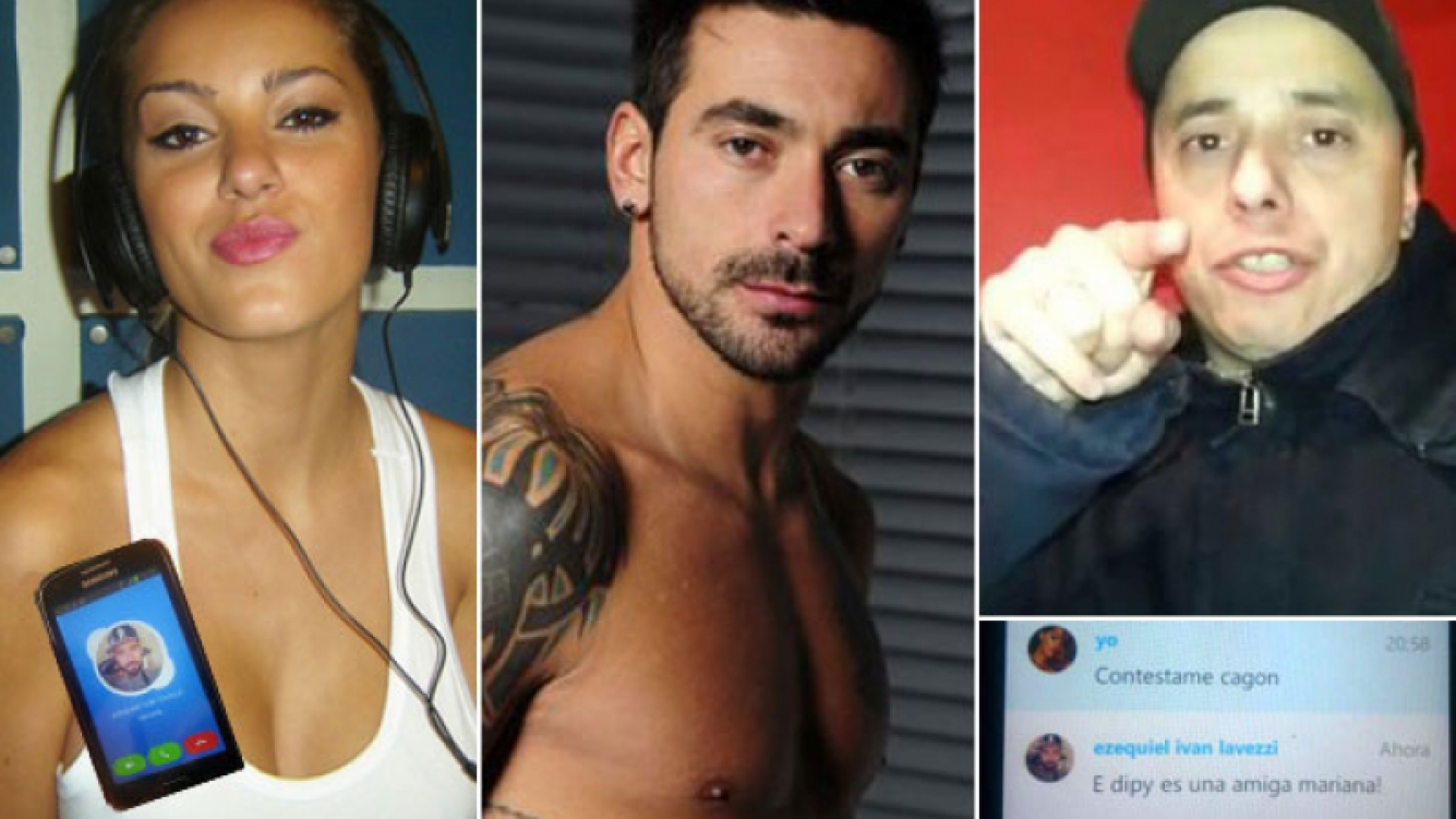 """Mariana Diarco, Pocho Lavezzi y """"El Dipy"""". (Foto: Web)"""