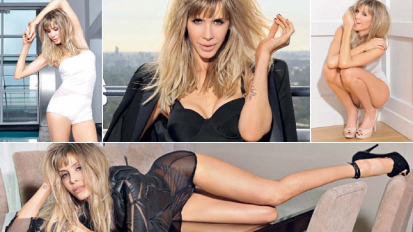 Guillermina Valdés, super sexy. (Foto: revista Gente)