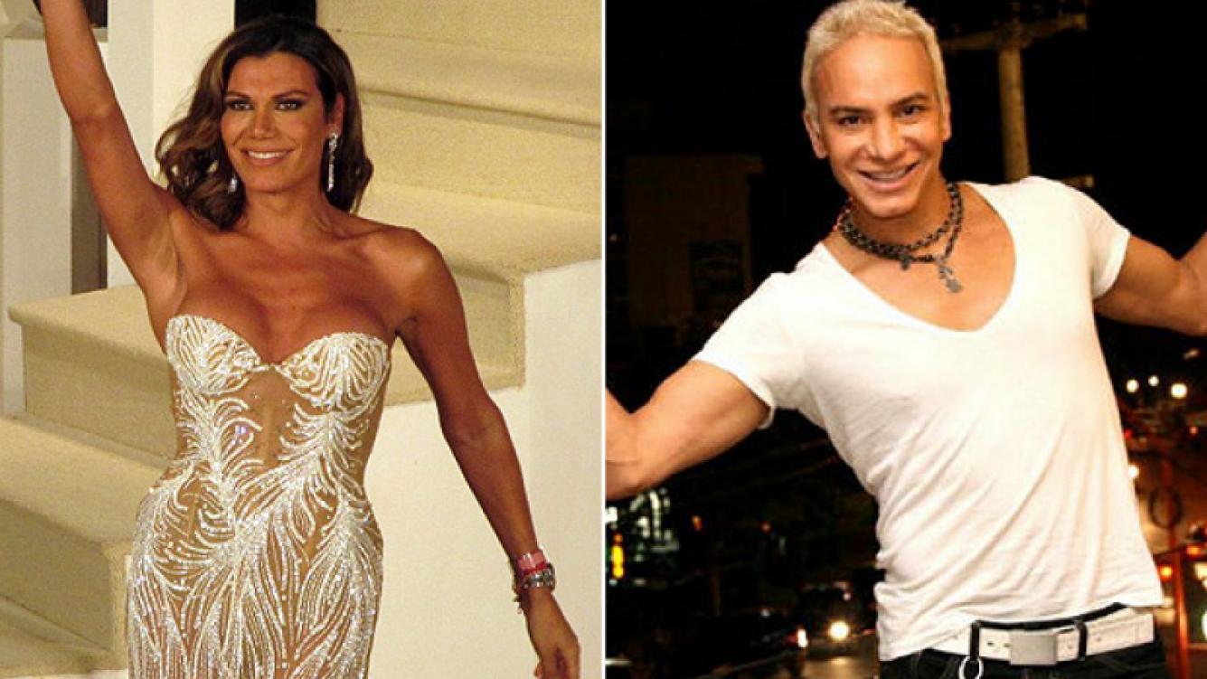 Florencia de la Ve y Flavio Mendoza, de rivales a socios. (Foto: web)