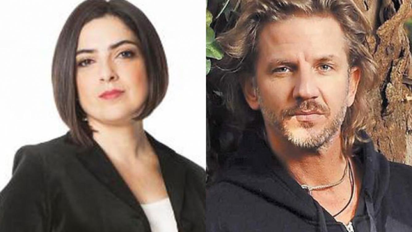 """Paola Barrientos y un """"palito"""" para Facundo Arana (Fotos: Web)."""