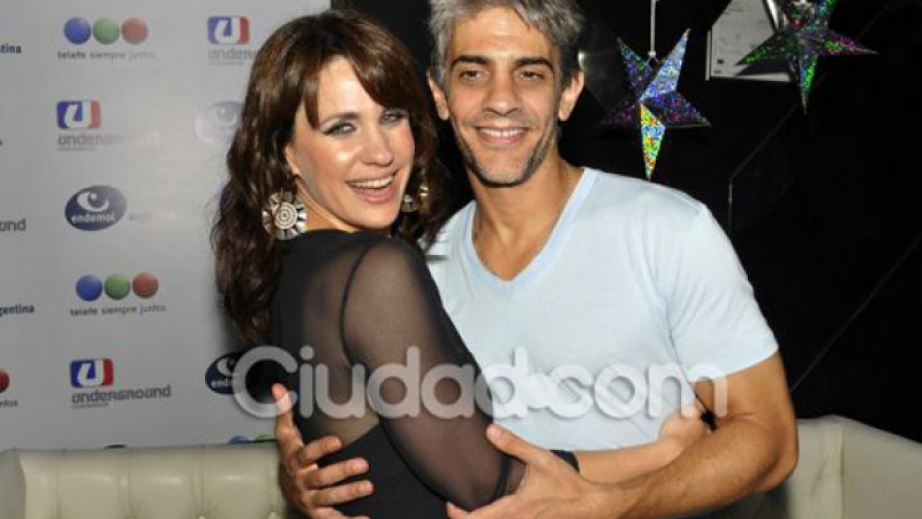 Pablo Echarri junto a Nancy Dupláa. (Foto: Ciudad.com)