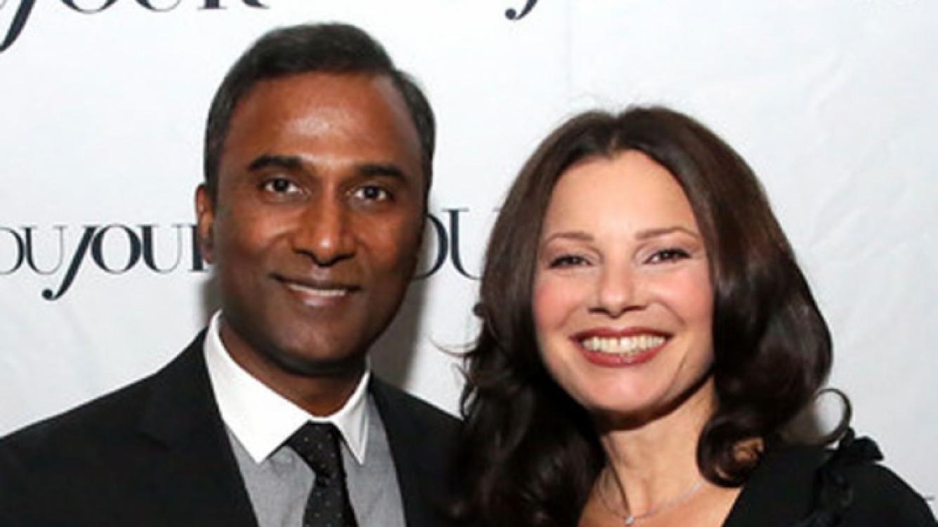 ¡Se casó La Niñera! Fran Drescher contrajo matrimonio con el creador del e-mail Shiva Ayyadurai. (Foto: Web)