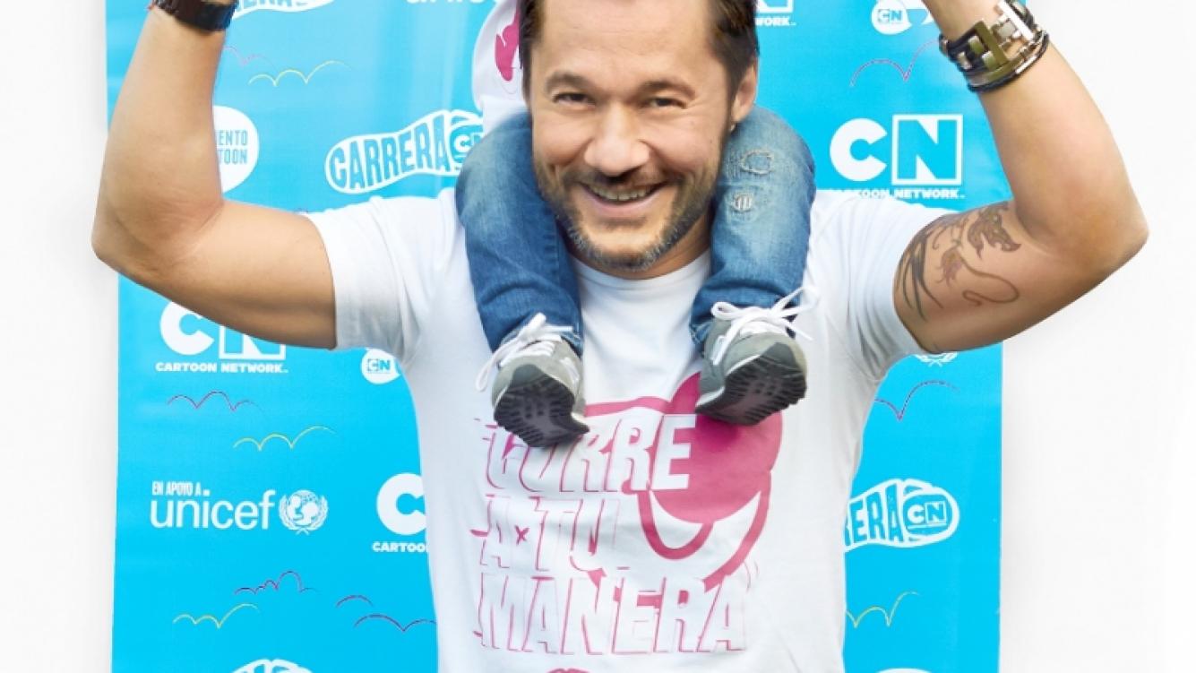 Diego Torres, embajador regional de Carrera Cartoon Network (Foto: Prensa Personally)