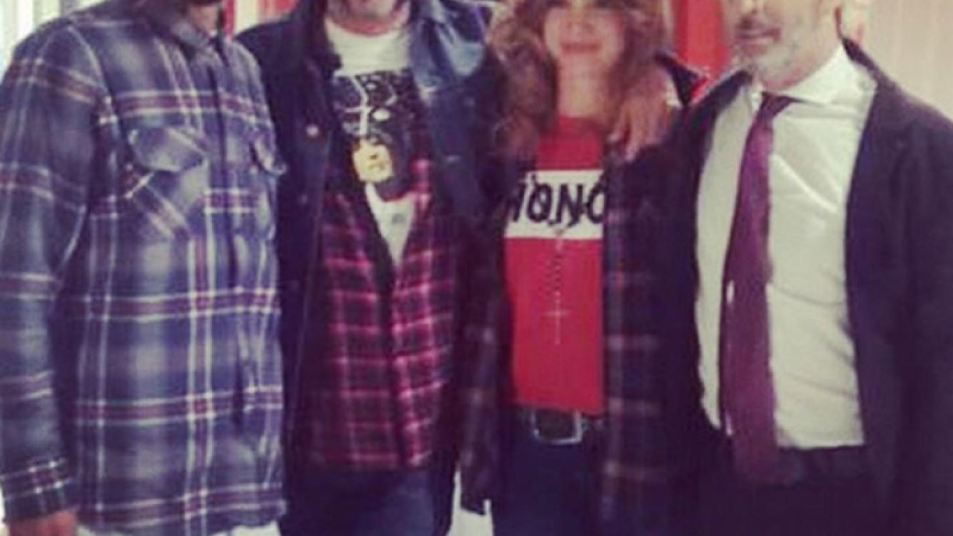 Celeste Cid y Fito Páez se reencontrarán en Viudas. (Foto: Instagram)
