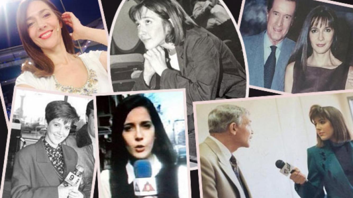Cristina Pérez y las inéditas perlitas retro de sus comienzos en el periodismo. (Foto: Twitter)