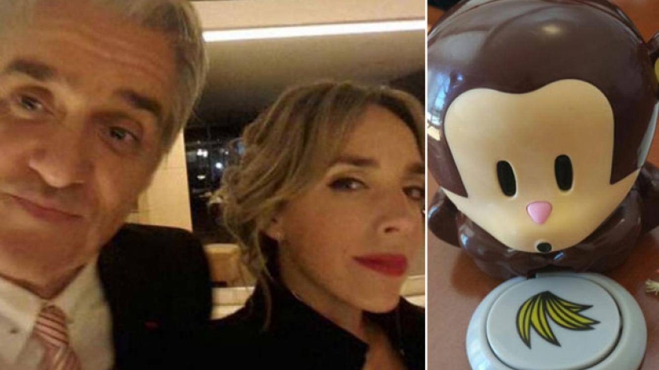 El regalo de Roberto Pettinato a su hija Tamara. (Fotos: Web y Twitter)