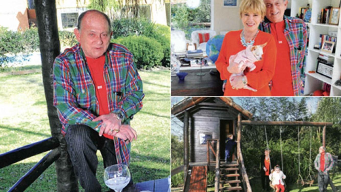 La lujosa casa de fin de semana de Chiche Gelblung (Foto: revista Caras)