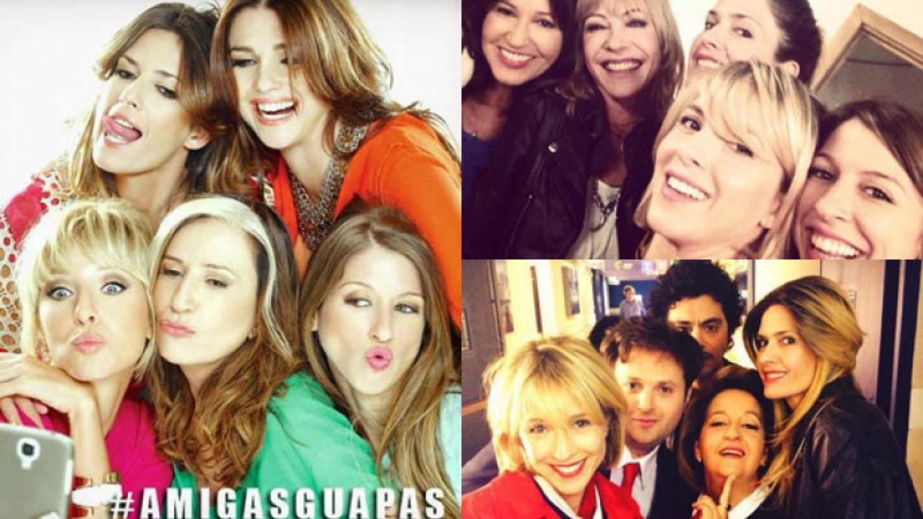 Guapas, un fenómeno de las redes sociales (Fotos: Web y Twitter).