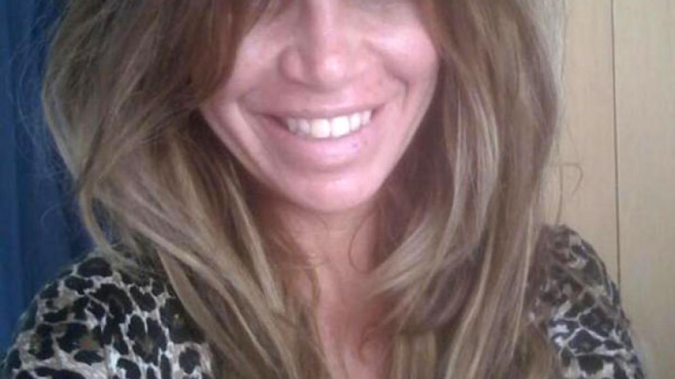 Florencia Peña al natural en las redes sociales (Foto: Twitter).